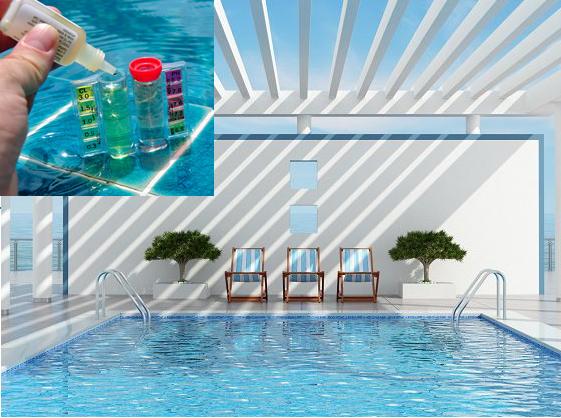 piscina con analisis